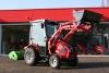 TYM Traktor T273 Hydrostat mit Kabine, Frontlader und Peruzzo Schlegelmulcher